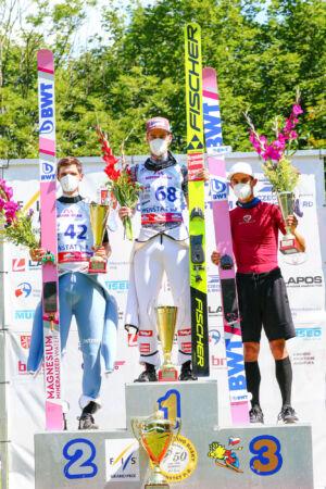 1.Mika Schwann, 2.Čestmír Kožíšek, 3.Maciej Kot - sCoC Frenštát 2021