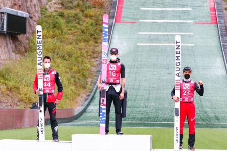 1. Andreas Granerud Buskum, 2. Manuel Fettner, 3. Timon-Pascal Kahofer - sCoC Oslo 2021