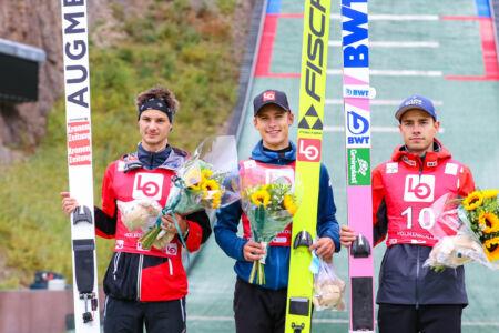 1. Fredrik Villumstad, 2. Manuel Fettner, 3. Jakub Wolny - sCoC Oslo 2021