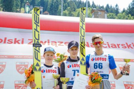 1. Justin Nietzel, 2. Markus Rupitsch, 3. Thomas Hofer - FIS Cup Szczyrk 2018