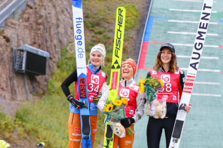 1. Katharina Althaus, 2. Pauline Hessler, 3. Hannah Wiegele - WsCoC Oslo 2021