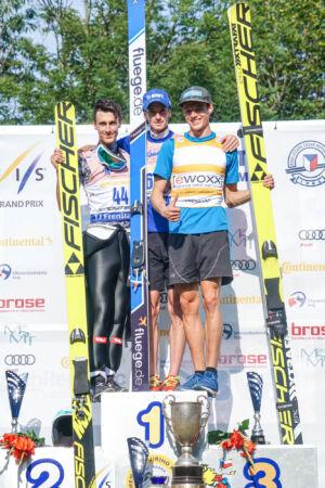 1. Lukáš Hlava, 2. Florian Altenburger, 3. Philipp Aschenwald - sCoC Frenštát 2018