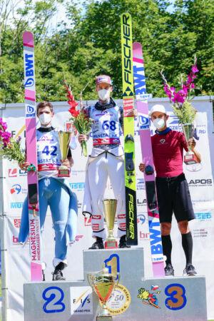 1.Mika Schwann, 2.Cestmír Kožíšek, 3.Maciej Kot - sCoC Frenštát 2021