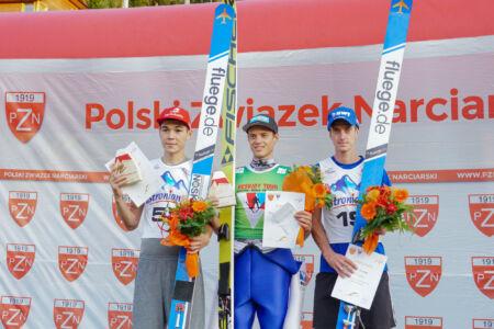 1. Philipp Aschenwald, 2. Ilmir Hazetdinov, 3. Lukáš Hlava - sCoC Szczyrk 2018