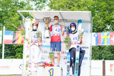 1.Viktor Polášek, 2.Mika Schwann, 3.Philipp Raimund - sCoC Frenštát 2021
