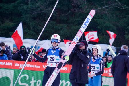 Andreas Stjernen, Simon Ammann - WC Tauplitz Bad Mitterndorf 2018