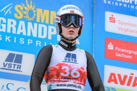 Anna Odine Strøm - WSGP Klingenthal 2018
