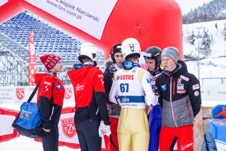 Austria Team - FIS Cup Zakopane 2019
