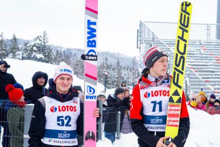 Dušan Doležel, Maximilian Lienher - FIS Cup Zakopane 2019