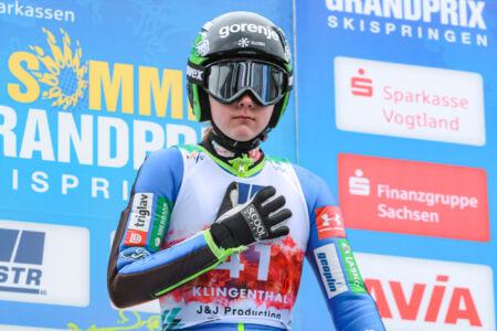 Ema Klinec - WSGP Klingenthal 2018