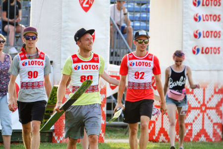 FIS CUP Szczyrk 2019 - Tim Fuchs, Maximilian Lienher, Maximilian Steiner