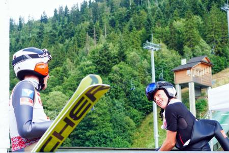 FIS CUP Szczyrk 2019 - Jack White i Marco Wörgötter