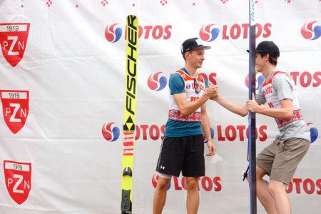 FIS Cup Szczyrk 2019 - Maximilian Steiner i Claudio Moerth