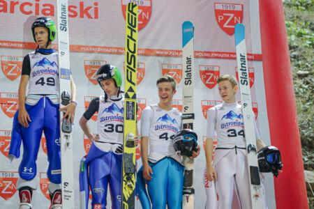 Fabian Seidl, Philipp Raimund, Jaka Hvala, Zak Mogel - sCoC Wisła 2018