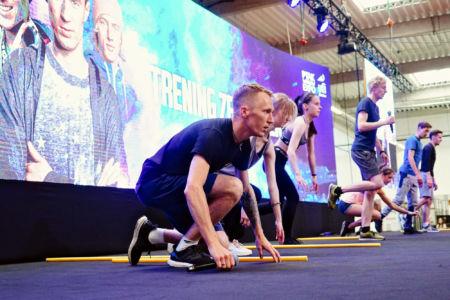 Go Active Show - trening ze skoczkami