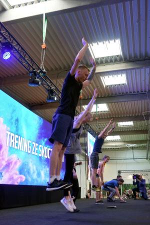 Go Active Show 2019 - trening ze skoczkami
