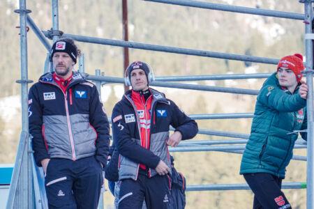 Gregor Schlierenzauer, David Siegel - WC Garmisch-Partenkirchen 2018