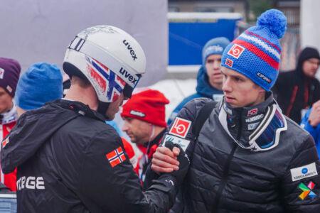 Halvor Egner Granerud, Andreas Stjernen - WC Engelberg 2018