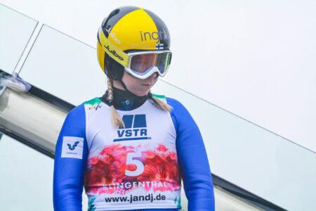 Julia Kykkänen - WSGP Klingenthal 2018