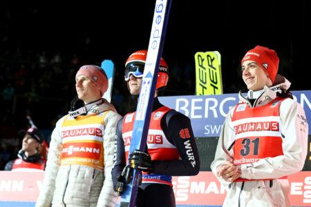 Karl Geiger, Stephan Leyhe, Constantin Schmid - WC Titisee-Neustadt 2020