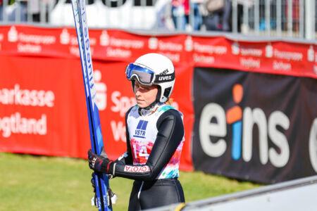 Karolína Indráčková - WSGP Klingenthal 2021