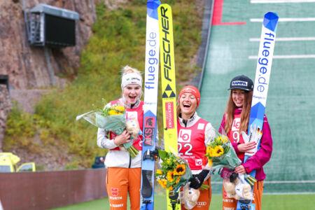 Katharina Althaus, Pauline Hessler, Juliane Seyfarth - WsCoC Oslo 2021