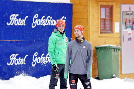 Stephan Leyhe, Markus Eisenbichler - WC Wisła 2017