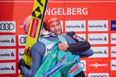 Markus Eisenbichler, Karl Geiger - WC Engelberg 2018