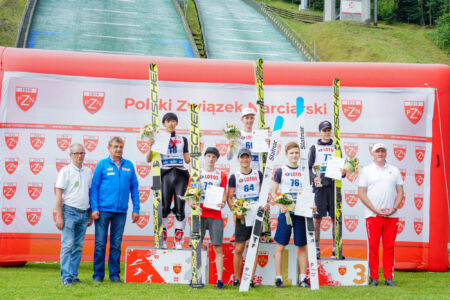 Maximilian Steiner, Naoki Nakamura, Justin Nietzel, Kacper Juroszek, Hunor Farkas, Fabian Seidl - FIS Cup Szczyrk 2018