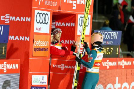 Michael Hayböck, Stefan Kraft - WC Klingenthal 2019