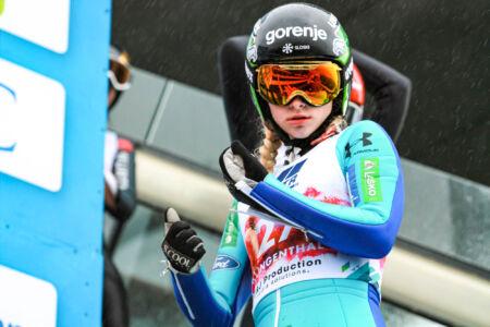 Nika Križnar - WSGP Klingenthal 2018