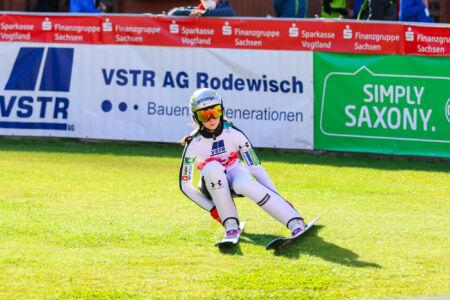 Nika Prevc - WSGP Klingenthal 2021