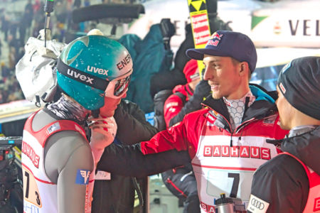 PŚ Lahti 2019 - Gregor Schlierenzauer & Michael Hayböck