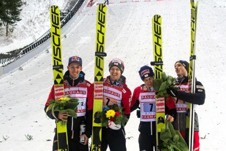 PŚ Lahti 2019 - Gregor Schlierenzauer, Michael Hayböck, Stefan Kraft, Philipp Aschenwald