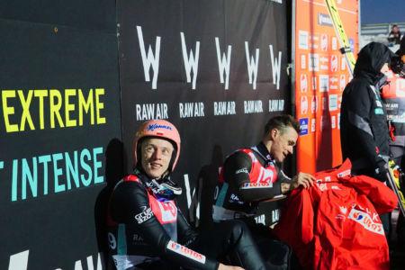 PŚ Lillehammer 2019 - Dawid Kubacki i Piotr Żyła