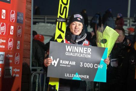 PŚ Lillehammer 2019 - zwycięzca kwalifikacji Junshirō Kobayashi