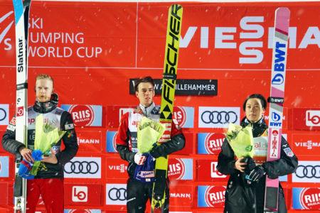 PŚ Lillehammer 2019 - Podium konkursu