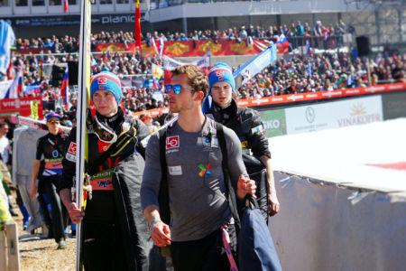 PŚ Planica 2019 - Robin Pedersen i Marius Lindvik