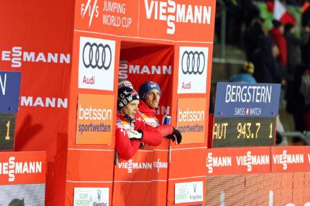 Philipp Aschenwald, Gregor Schlierenzauer - WC Klingenthal 2019
