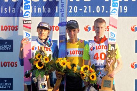 SGP Wisła 2019 - Timi Zajc, Dawid Kubacki, Evgeniy Klimov