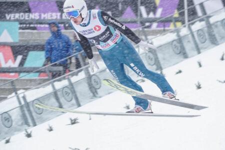 Simon Ammann - WC Oslo 2018