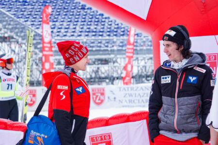 Stefan Huber, Janni Reisenauer - FIS Cup Zakopane 2019