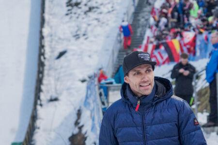 Sven Hannawald - WC Bischofshofen 2018