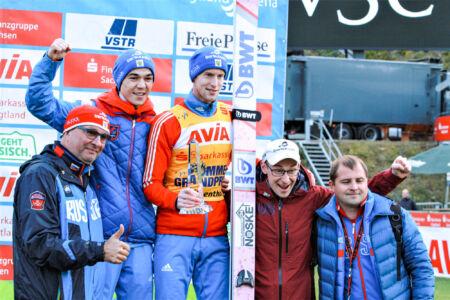 Team Russia - SGP Klingenthal 2018