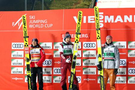 WC Engelberg 2019 - Kamil Stoch, Stefan Kraft, Karl Geiger