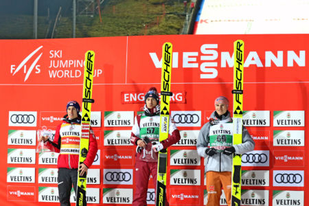 WC Engelberg 2019 - Podium