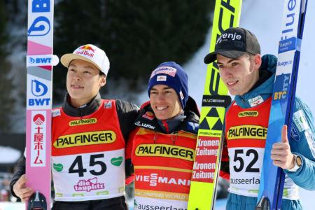 WC Tauplitz/Bad Mitterndorf 2020 - Ryōyū Kobayashi, Stefan Kraft, Timi Zajc