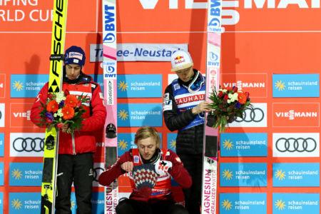 WC Titisee-Neustadt 2020 - 1. Dawid Kubacki, 2. Stefan Kraft, 3. Ryōyū Kobayashi