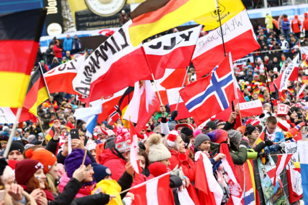 WC Willingen 2020 - Flags