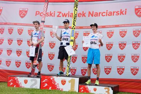 FIS CUP Szczyrk 2016 - Davide Bresadola, Sebastian Colloredo, Janni Reisenauer
